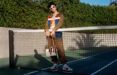 Soko protagoniza la nueva campaña del emblemático bolso Sylvie de Gucci