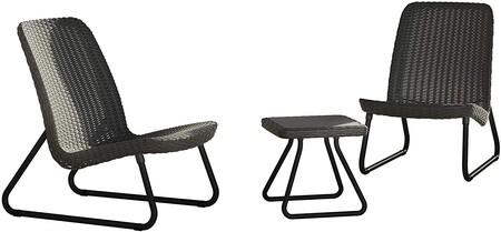 Conjunto de sillones y mesa