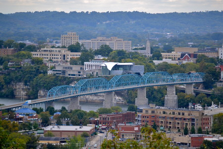 Chattanooga Tennessee Skyline