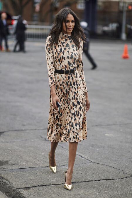 Como Llevar Un Vestido De Leopardo 7