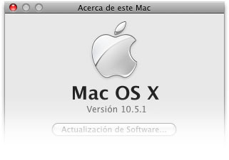 Mac OS X Leopard 10.5.1: La primera actualización ya está en camino