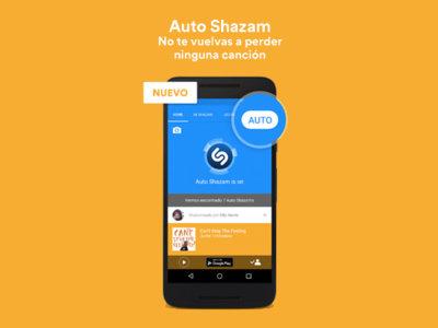 Shazam ahora cuenta con modo automático para identificar la música que escuchas