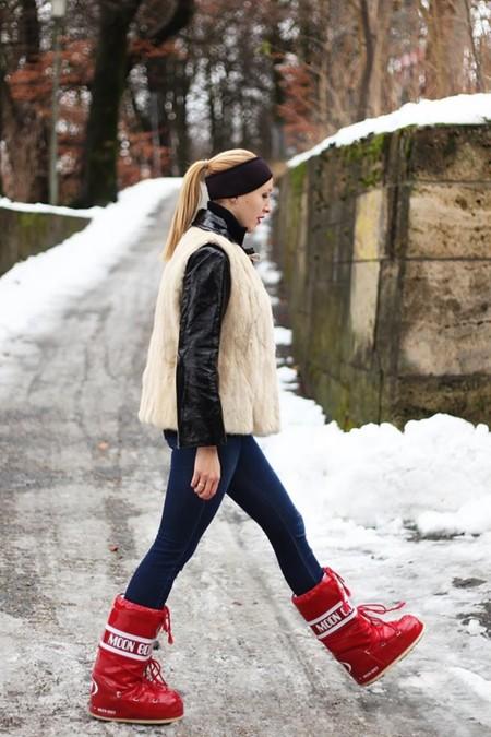 Las botas de los astronautas que encantan a las blogueras de moda: Moon boots
