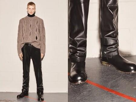 Contraste Tonal La Propuesta De Zara Para Dinamizar El Look En Negro Que Llevamos En Otono