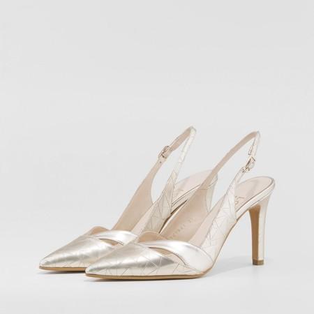 Salon Destalonado Rainey Dorado Zapatos Mujer Online