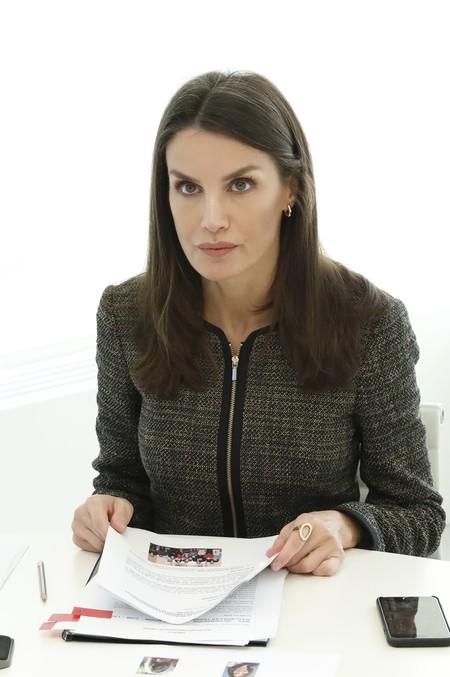 Reina Letizia Chaqueta Tweed 2