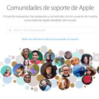 Apple presenta las nuevas Comunidades de Soporte en español totalmente renovadas