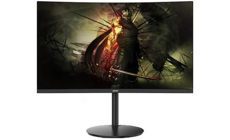 Acer XZ270X y XZ320QX: los dos nuevos monitores gaming de Acer lucen pantalla curva y resolución Full HD