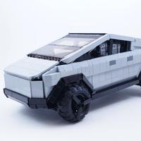 Ahora sí, Tesla Cybertruck pelea en Lego Ideas por un lugar en la familia