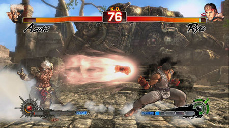 Ryu repartirá patadas giratorias en 'Asura's Wrath'