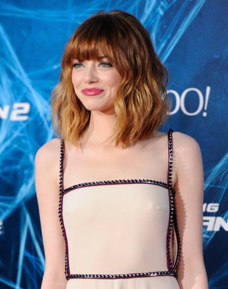 ¡Emma Stone por fin viste de Prada!