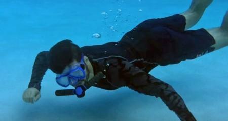 Triton nos ha salido rana: no, no se puede respirar bajo el agua