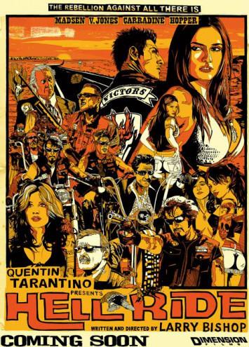 'Hell Ride', película motera producida por Tarantino