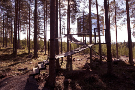 The Mirrorcube Treehotel
