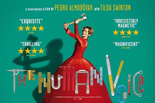 'La voz humana': la primera obra de Pedro Almodóvar en inglés es gran cine en formato breve con una sensacional Tilda Swinton