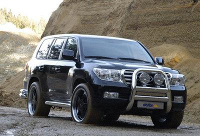 Tuning orondo: Toyota Land Cruiser V8 por delta4x4