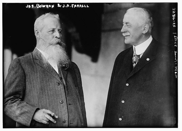Jas. Bowron and J.A. Farrell  [between ca. 1910 and ca. 1915]