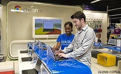 Google abrió una tienda en Londres
