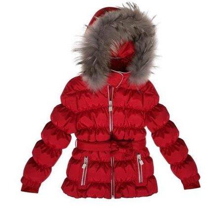 Plumon rojo capucha