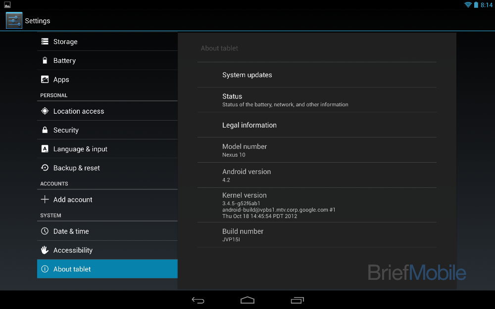 Imágenes de Android 4.2 (Jelly Bean)