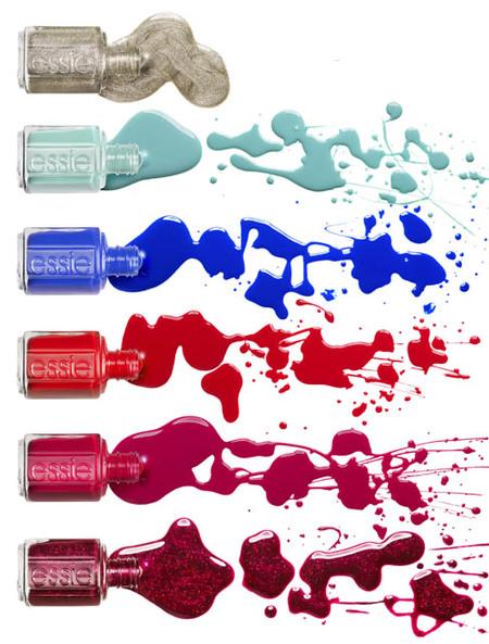 Color, color y más color para la Navidad 2012 de la mano de Essie