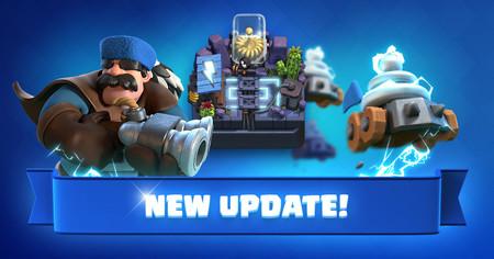 Clash Royale actualización de diciembre 2017: nueva arena, nuevas cartas y nuevos cofres