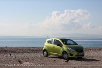Chevrolet Spark, presentación y prueba en Atenas (parte 1)