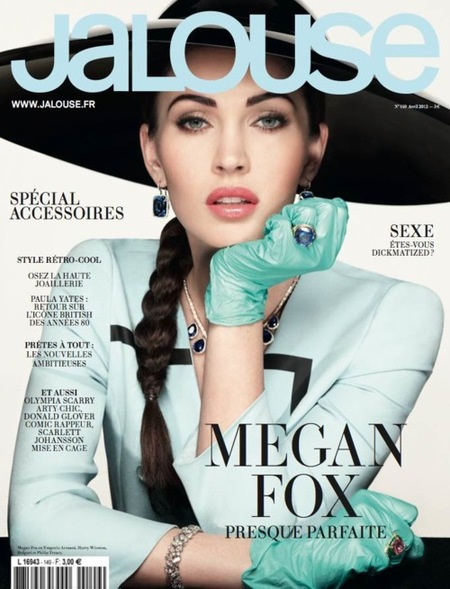 ¡Quién eres tú y qué has hecho con Megan Fox!