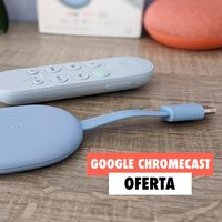 El nuevo Chromecast de Google convierte tu viejo televisor en todo un Smart TV y en Fnac lo tienes en oferta hoy con un 17% de descuento