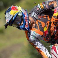 Jorge Prado se rompe el fémur a menos de cuatro meses de su debut en MXGP