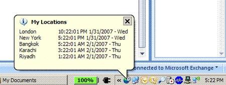 Windows XP: poner más de una hora