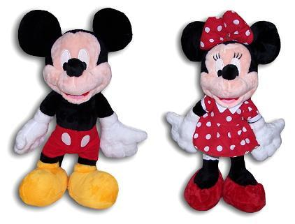 Peluche Mickey y Minnie