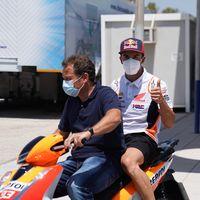Marc Márquez, Álex Rins y Cal Crutchlow han sido declarados aptos y podrán estar en el Gran Premio de Andalucía