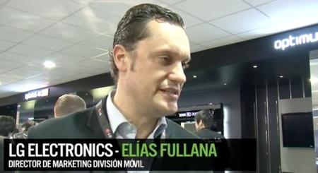 """""""El diseño y la pantalla serán las claves de todos nuestros smartphones"""", entrevista a Elías Fullana de LG"""