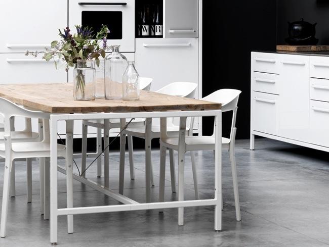Vipp una elegante mesa de estilo industrial - Como hacer una mesa estilo industrial ...