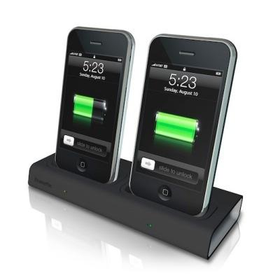 Base doble de Xtrememac para el iPod Touch e iPhone