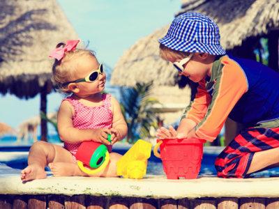 Fotoprotectores en niños: todo lo que debes saber para protegerlos del sol
