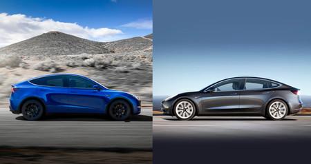 Comparativa Tesla Model 3 vs Tesla Model Y: dos coches eléctricos parecidos por fuera, muy distintos por dentro