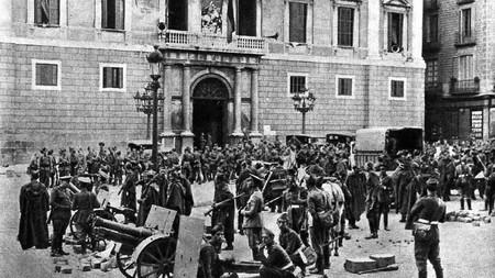 Octubre de 1934, la ¿última? vez que el gobierno de España suspendió la autonomía de Cataluña