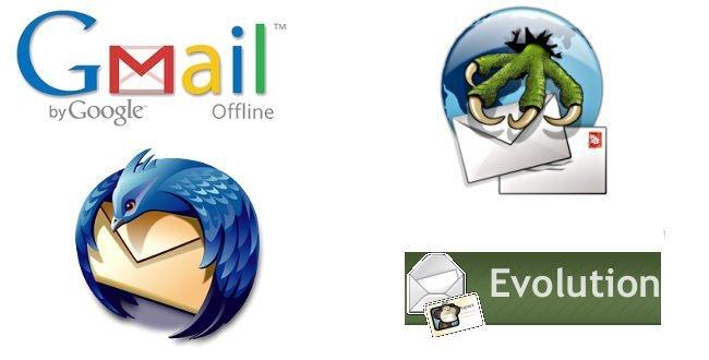 Cuatro alternativas de gestión de correo en Linux