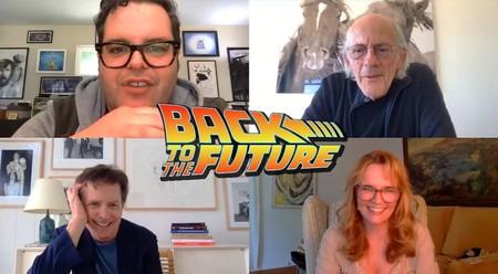 'Regreso al futuro': el reparto y los responsables de la saga se reúnen con fines benéficos y hablan sobre una posible parte 4