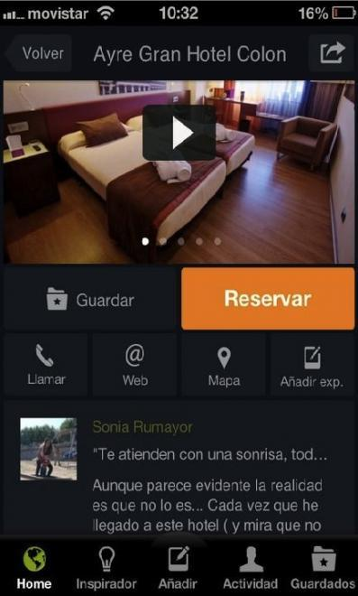 Minube ya permite reservar alojamiento a través de su aplicación móvil
