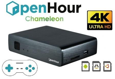 Open Hour Chameleon quiere ser el centro multimedia 4K por excelencia de 2015