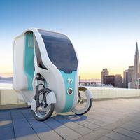 Este triciclo eléctrico se alimenta con energía solar y es una interesante propuesta de vehículo urbano... con precio inalcanzable