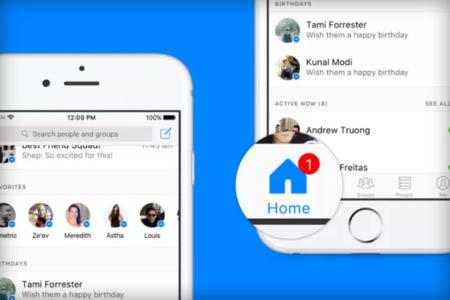 Facebook Messenger ahora tiene una nueva pantalla de inicio