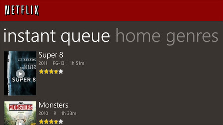 Netflix para Windows Phone se actualiza con soporte para pantallas HD