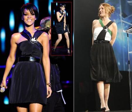 Vestido de Gucci: ¿Drew Barrymore o Rihanna?