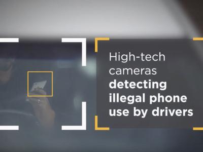 Los radares evolucionan al nivel de saber si usas o no tu teléfono mientras conduces hasta a 300 km/h