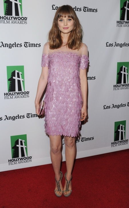 bella heathcote hollywood gala