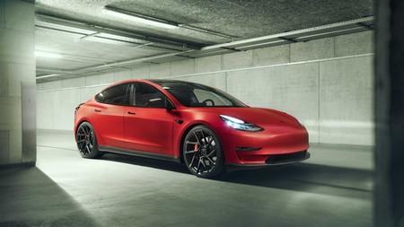 Tesla Model 3 by Novitec, tuning con toques ecológicos